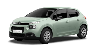 citroen-c3-private-lease-almond-green